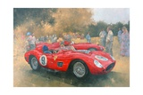 Ferrari, Day Out at Meadow Brook Giclee Print by Peter Miller