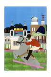 Olympic Equestrian Event in Greenwich Park, 2012 Giclee Print by Frances Treanor