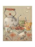 Tea Club, 2003 Giclée-Druck von Kestutis Kasparavicius