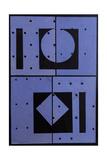 Collage, Blue Mercato, 2004 Giclee Print by George Dannatt