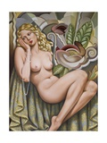 Opium Dreamer Giclee Print by Catherine Abel