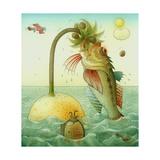 Fish, 2006 Giclee Print by Kestutis Kasparavicius