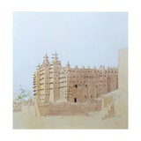 Djenne (Mali) Grande Mosquee, Tuesday, 2000 Giclee Print by Charlie Millar