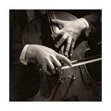 Mstislav Rostropovich's Hands Photographic Print by Lotte Meitner-Graf