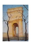 Arc De Triomphe, 2010 Giclee Print by Antonia Myatt