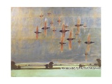 Flock III (Starlings) Giclee Print by Charlie Baird
