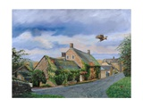 Ivy Cottage Beeley, Chatsworth, Derbyshire, 2009 Giclee Print by Trevor Neal