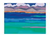 Cloud Sea View, 2010 Giclee Print by Sarah Gillard