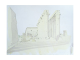 Luxor Temple Giclee Print by Charlie Millar