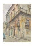 Havana Street Corner, 2010 Giclee Print by Julian Barrow