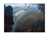 Barton Hills, 2005 Giclee Print by Ian Bliss