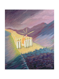 We Walk in the Sacred Tradition, Guided by the Bible and the Teaching of the Church, 1995 Giclee Print by Elizabeth Wang