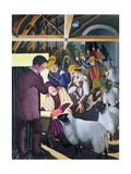 The Shepherds Went to See the Baby, 1998 Giclee Print by Dinah Roe Kendall