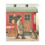 Suitcase, 2006 Giclee Print by Kestutis Kasparavicius