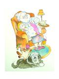 Nona (Grandma) Giclee Print by Maylee Christie