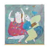 Dancing to His Tune, 2002 Giclee Print by Susan Bower