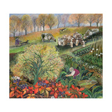 George's Allotment Giclee Print by Lisa Graa Jensen