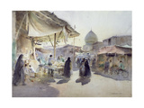 Light and Shade, Shiraz Bazaar, 1994 Giclee Print by Trevor Chamberlain