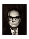 Otto Klemperer (1885-1973) Photographic Print by Lotte Meitner-Graf