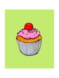 Cupcake, 2009 Giclee Print by Sarah Thompson-Engels