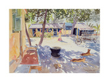 Sunday at the Boy's Home, 1991 Giclee Print by Lucy Willis