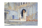 Palace Gate, Gujarat Giclee Print by Lucy Willis