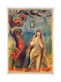 Poster Advertising 'Icilma, 5, Avenue De L'Opera, Paris', 1895 Giclee Print by  Pal
