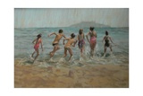 Who's First, 2009 Giclee Print by Pat Maclaurin