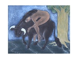 Amante, 2001 Giclee Print by Juan Alcazar