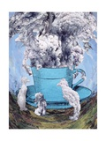 Afternoon Tea, 2003 Giclee Print by Ellen Golla