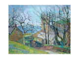 Reverend Hawker's Church at Morwenstow Giclee Print by Erin Townsend