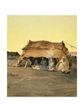 Tent Life Giclee Print by Henry Andrew Harper