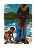 Walden Pond,2003 Giclee Print by Daniel Clarke