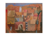 Middle Eastern Town, 1992 Giclee Print by Charlie Baird