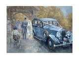 1930s Country Wedding Giclee Print by Peter Miller