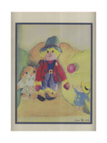Granny Tuffy's Toys, 1994 Giclee Print by Ann Robson