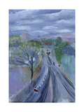 Hammersmith to Barons Court, 1996 Giclee Print by Sophia Elliot
