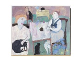 She Wasn't a Cat Person, 2009 Giclee Print by Susan Bower