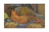 Nude on Chaise Longue, 2009 Giclee Print by Pat Maclaurin