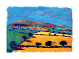 Golden Valley Giclee Print by Paul Powis