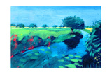 River Giclee Print by Paul Powis