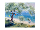 Looking on to a Beach Giclee Print by Anne Durham