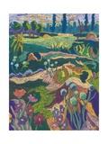 July Terrain, 2008 Giclee Print by Marta Martonfi-Benke