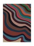 Rolling Waves, 2006 Giclee Print by Sarah Gillard