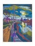 Encouter by Setting Sun, 2008 Giclee Print by Marta Martonfi-Benke