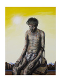 Stations of the Cross X: Jesus Is Stripped of His Garments, 2007 Giclee Print by Chris Gollon