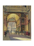 Leadenhall Market - the Crossroads Giclee Print by Julian Barrow