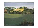 Hawnby, Yorkshire Giclee Print by Anna Teasdale