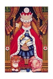 Queen Alice, 2008 Giclee Print by Frances Broomfield
