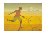 Running Boy,2010 Giclee Print by Tilly Willis